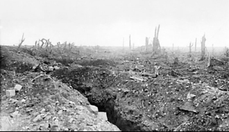 Trench scene - Wikipedia Commons
