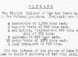 War Cabinet paper
