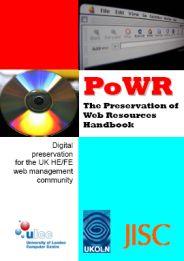 PoWR handbook