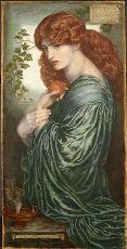 Proserpine, Dante Gabriel Rossetti