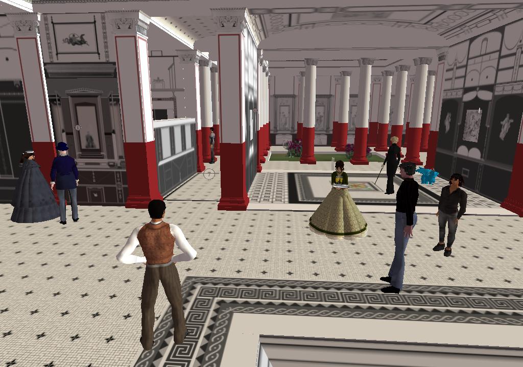 Second Life Scene